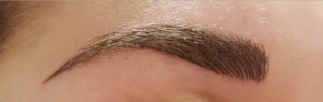 Hairstroke techniek make-up
