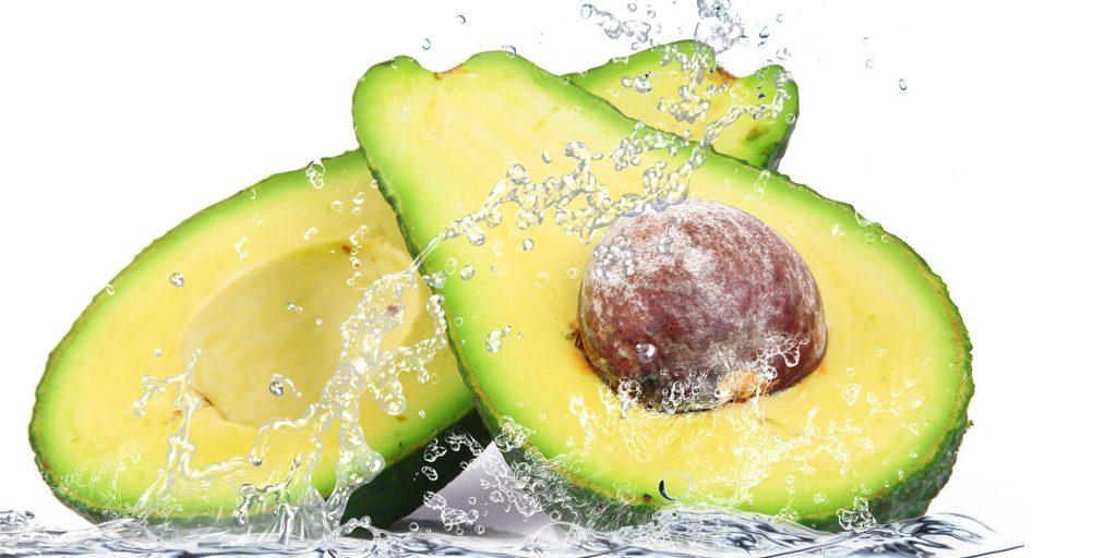 droge huid avocado