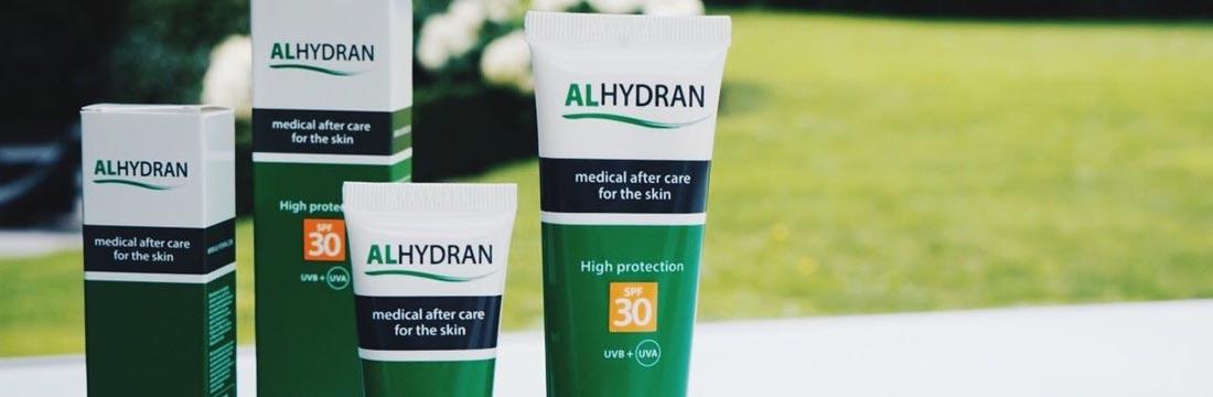 Alhydran creme droge huid