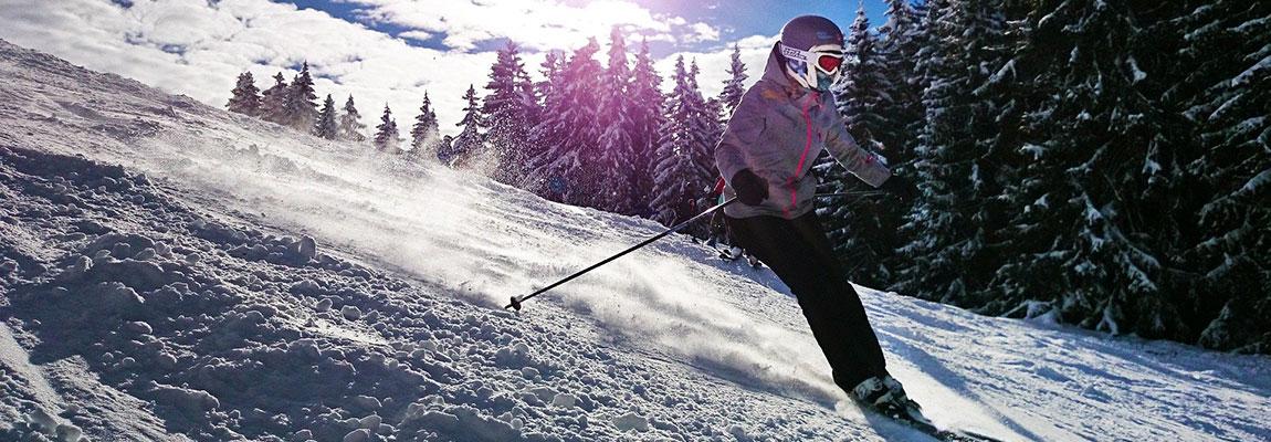 Skivakantie zonbescherming huid