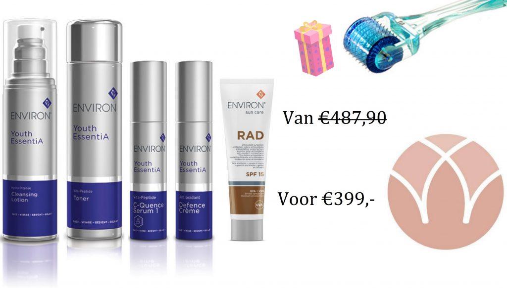 Deluxe pakket DIY huidverbetering
