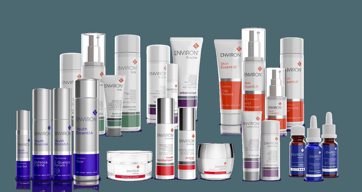 Environ huidproducten