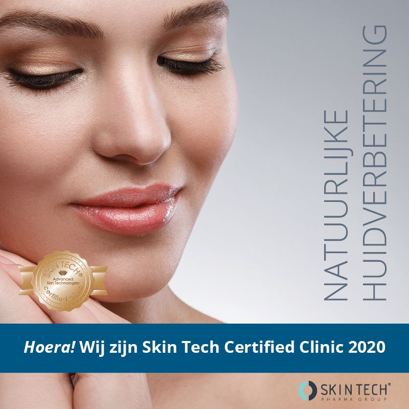 Wij zijn Skin tech gecertificeerd